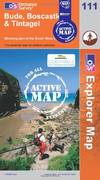 image of Bude, Boscastle and Tintagel (OS Explorer Map Active)