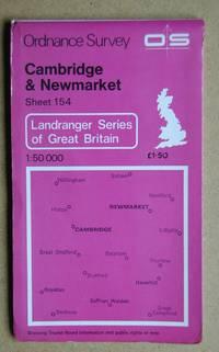 Ordnance Survey Map. Cambridge & Newmarket. Sheet 154.