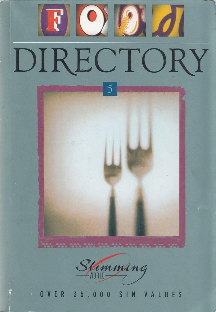 Food Directory 5 Slimming World Used Books