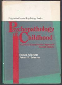 image of Psychopathology of Childhood