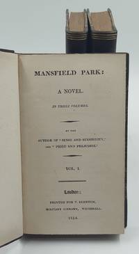 image of Mansfield Park: a Novel. In Three Volumes. by the author of