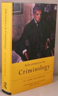 image of Adventures in Criminology.