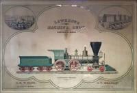 Lawrence Machine Shop.  Advertising Broadside