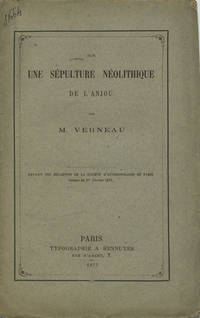 Paris: Typographie A. Hennuyer, 1877. Offprint. Paper wrappers. A very good- copy, foxed, small tear...