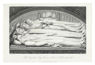 Single plate. London: Cadell and Davies, 1808. Single plate, etching on wove unwatermarked paper, tr...