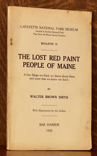 image of THE LOST RED PAINT PEOPLE OF MAINE