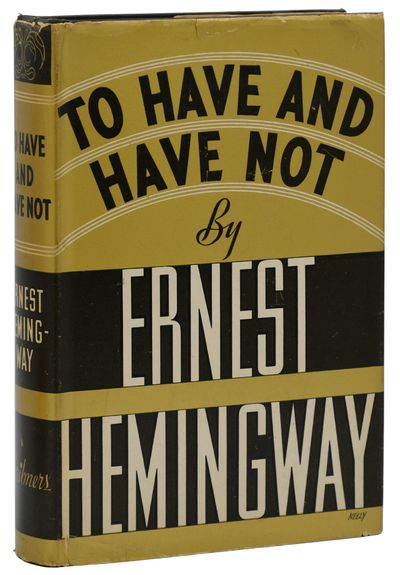 New York: Charles Scribner's Sons, 1937. First Edition. Very Good/Very Good. First edition, first pr...