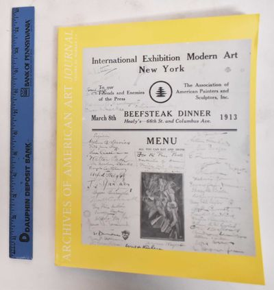 Washington, D.C.: Archives of American Art, 1997. Softcover. VG (light wear to wraps. Pages are clea...