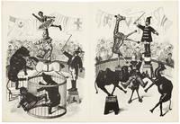 HUMPTY DUMPTY CIRCUS. 10,001 Astonishing Tricks, Unbreakable Jointed Figures.