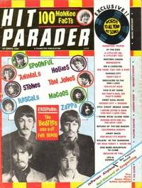 """Hit Parader  June 1967 -- featuring the """"Beatles"""" on the Cover ...Frank Zappa, Buffalo Springfield, Lothar & the Hand People, Dennis Wilson, Blues Magoos, Eric Burdon, The Monkees, Hollies, Jefferson Airplane, Mojo Men, Sopwith Camel, Electr"""