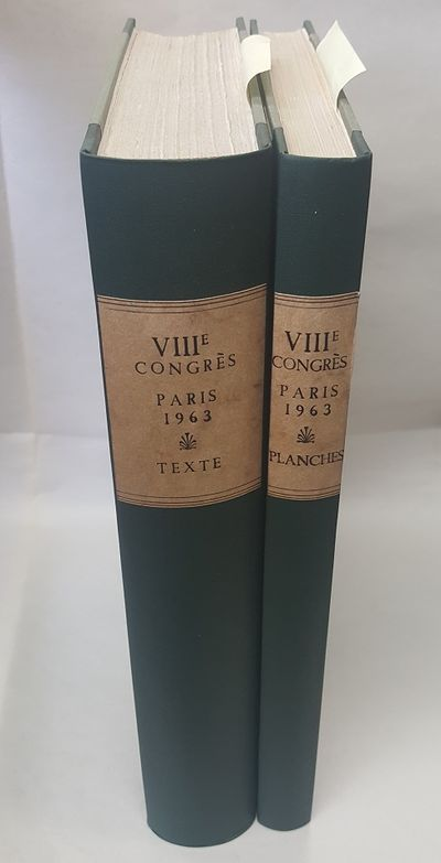 Paris: Editions E. de Boccard, 1965. Text in French; Small quartos; VG hardcovers; Green spines with...