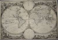 (World Map from Keur bible): Wereldkaart by  Jan Van Jagen - 1748 - from The Prime Meridian: Antique Maps & Books and Biblio.com