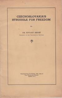 Czechoslovakia's Struggle for Freedom [Offprint]