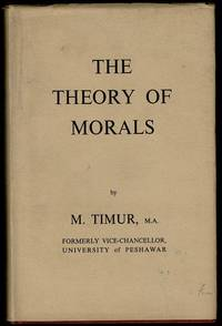 image of The Theory of Morals