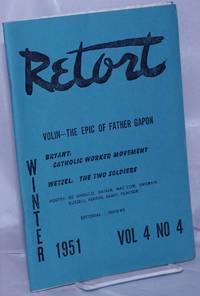 image of Retort: an anarchist review.  Vol. 4, no. 4, Winter 1951