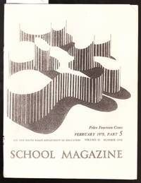 image of School Magazine - New South Wales Dept. Of Education - February 1978  Part 5  Vol.63  No.1