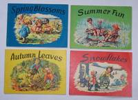 Spring Blossoms, Summer Fun, Autumn Leaves, Snowflakes (4 Volumes)