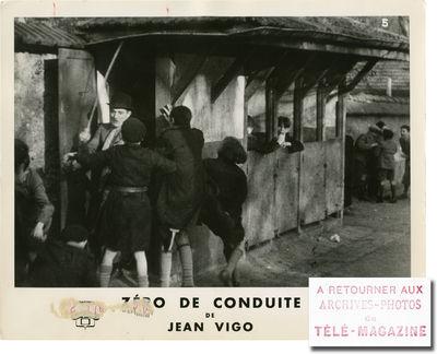 Paris: Franfilmdis / Argui-Film, 1933. Collection of four vintage oversize double weight studio stil...