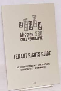image of Tenant Rights Guide for residents of SRO (Single Room Occupancy) residential hotels in San Francisco