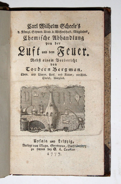 Upsala & Leipzig: Magn. Swederus... zu finden bey S.L. Crusius, 1777. First edition of this extremel...