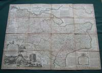 An Accurate Map of the County of Kent Divided into its Lathes,
