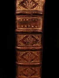 Biblia Sacra, Vulgatae ed., Sixti V. Pont. Max. jussu recognita et Clementis VIII. auctoritate edita.