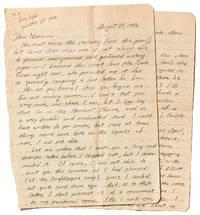 Autograph Letter Signed. 1942