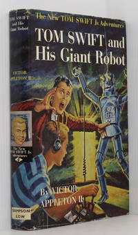 Tom Swift and his Giant Robot by  Victor Appleton II - 1st Edition 1st Printing - 1954 - from Durdles Books (IOBA) and Biblio.com