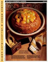 image of McCall's Cooking School Recipe Card: Meat 34 - Ham-Loaf Ring With  Mustard-Glazed Fruits : Replacement McCall's Recipage or Recipe Card For  3-Ring Binders : McCall's Cooking School Cookbook Series