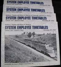 AT&SF System Employee  Timetables as of November 29, 1942