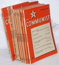 image of The Communist; Vol 15 Jan-Dec missing Oct, 1936 a magazine of the theory and practice of Marxism-Leninism.  [Eleven issues for 1936, missing only February issue]