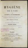 View Image 2 of 7 for Hygiene De L'Ame Par Le Baron E. De Feuchtersleben...traduit De L'Allemand Sur Ala 20me Edition Par ... Inventory #27136