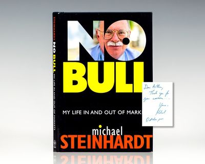 New York: John Wiley & Sons, 2001. First edition of Steinhardt's autobiography, who is one of the mo...