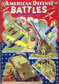 American Defense Battles Punch-Out Book #3430