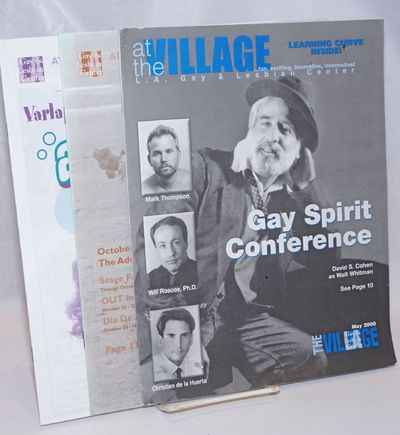 Los Angeles: L.A. Gay & Lesbian Center, 2001. Magazine. Three issues, various pagination, 8.5x11 inc...