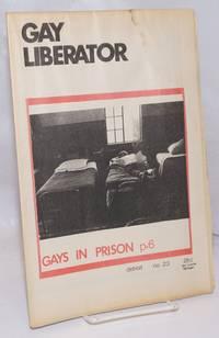 image of Gay liberator [aka Detroit Gay liberator] vol. 1, #23, January, 1973; Gays in Prison