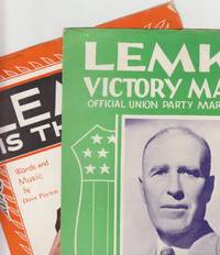 Lemke Victory March by  and Martha Voxland (Lyrics) + Dave Peyton (Words and Music)  Charlotte Rogers (Music) - Paperback - First Edition - 1936 - from Beasley Books (SKU: 26661)
