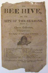 The Bee Hive, Or, The Sips of the Season, Being a Choice Collection, of the Newest Songs, Now...