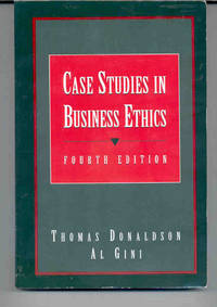 case studies in business ethics al gini Find great deals for case studies in business ethics by al gini (2004, paperback, revised) shop with confidence on ebay.