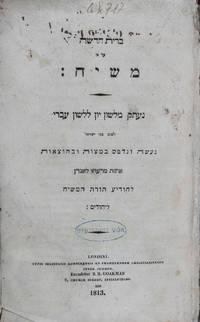 Brit hadashah 'al pi Mashiah: ne'tak mi-lashon Yavan li-lashon 'Ivri