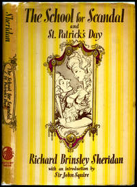 The School for Scandal and St. Patrick's Day