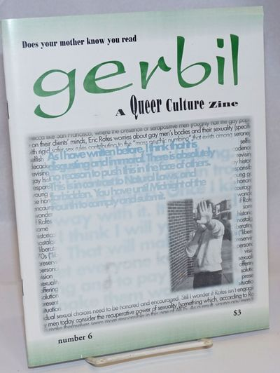 Rochester: Gerbil Zine, 1996. Magazine. 32p. includes covers, 7.5x9.5 inches, articles, reviews, new...