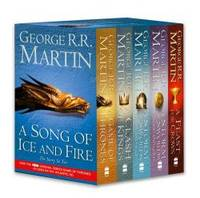 image of A Game of Thrones: A Song of Ice and Fire, Vol. 1-4: A Game of Thrones / A Clash of Kings / A Storm of Swords: Steel and Snow / A Storm of Swords: Blood and Gold