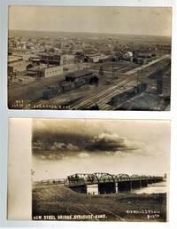 image of (Real Photo postcards)  Two Views of Syracuse, Kansas 1916