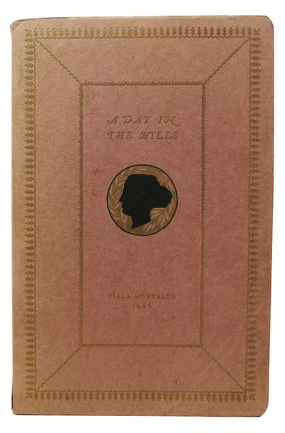 Saratoga: Privately Printed, 1926. 1st edition. Wraps. Nr. Fine.. 8vo. An anthology of poetry compil...
