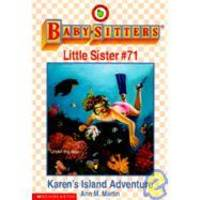 image of Karen's Island Adventure (Baby-Sitters Little Sister, No. 71)