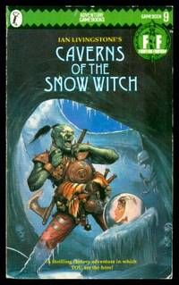 image of CAVERNS OF THE SNOW WITCH - A Fighting Fantasy Gamebook