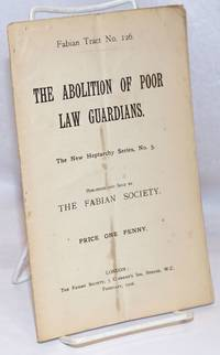 The Abolition of Poor Law Guardians