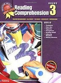 MASTER SKILLS SERIES: READING COMPREHENSION GRADE 3