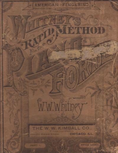 : Whitney, W. W., 1886. Hardcover. Fair. Tall quarto (12
